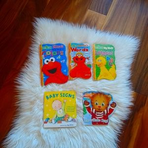 Lot of baby toddler books